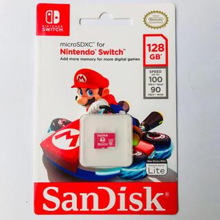 Nintendo Switch - 任天堂スイッチ switch 推奨 マイクロSDカード サンディスク 128GB
