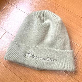 Champion - 【新品未使用】チャンピオンchampionロゴ刺繍厚手ニット帽
