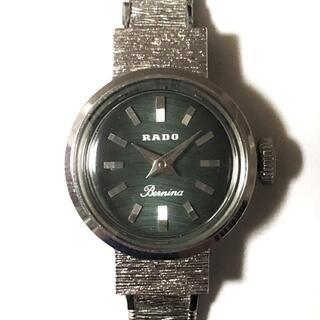 ラドー(RADO)のRADO(ラドー) - 11-0760 レディース 黒(腕時計)