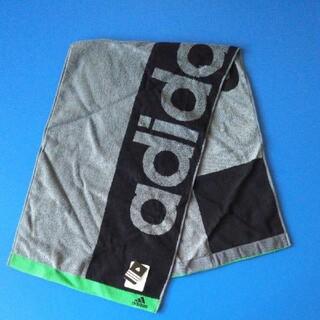 アディダス(adidas)のアディダス ロング スポーツタオル フェイスタオル(タオル/バス用品)