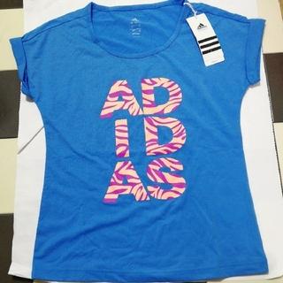 アディダス(adidas)の新品 アディダス トップス フィットネス ダンス 150cm 大人女性も可(Tシャツ/カットソー)