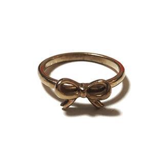 ノジェス(NOJESS)のNOJESS(ノジェス) K10 リボン(リング(指輪))