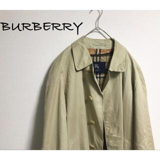 バーバリー(BURBERRY)の古着 BURBERRY バーバリー チェック ステンカラー ライナー コート (ステンカラーコート)