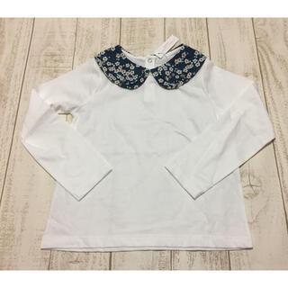 Jacadi - JACADI リバティプリント襟付きTシャツ 6A 新品