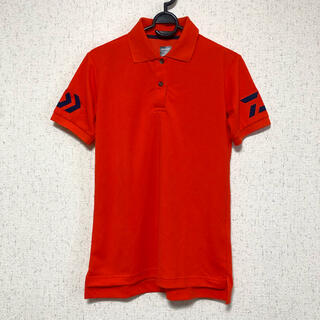 ダイワ(DAIWA)のDAIWA ダイワ ポロシャツ オレンジ(ウエア)