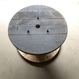 電線ドラム DIY インダストリアル ガーデニング サイドテーブル  即日発送!(アウトドアテーブル)