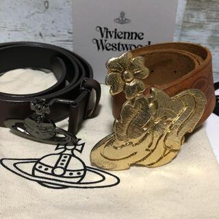 Vivienne Westwood - 【激レア2個セット】ヴィヴィアンウエストウッド ベルト メンズ オーブ 花柄