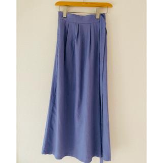アーバンリサーチ(URBAN RESEARCH)のURBAN RESEACH ・purpleロングスカート(ロングスカート)