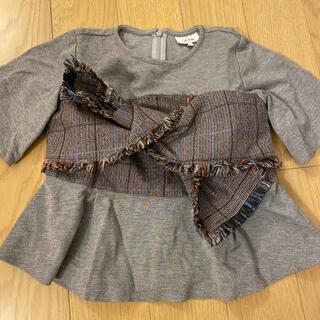 アバンリリー(Avan Lily)のpalinka ゆっきーな ツイードリボントップス(Tシャツ/カットソー)