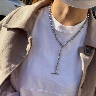 イーエム(e.m.)のball chain necklace(ネックレス)