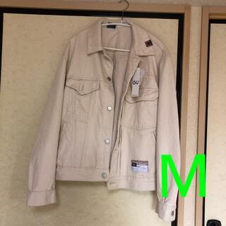 ジーユー(GU)のデニムジャケット Mサイズ(Gジャン/デニムジャケット)
