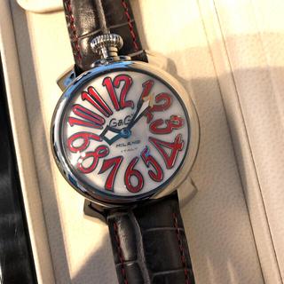 ガガミラノ(GaGa MILANO)のGaGa MILANO ガガミラノ 5020.10 マヌアーレ 40mm (腕時計)