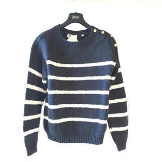 トゥモローランド(TOMORROWLAND)のTOMORROWLAND tricot綿シルクセーター☆新品タグ付き(ニット/セーター)