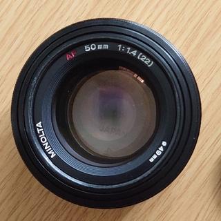 MINOLTA 50mm f1.4(レンズ(単焦点))