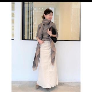 アパルトモンドゥーズィエムクラス(L'Appartement DEUXIEME CLASSE)の【UPPER HIGHTS】Corduroy Long スカート(ロングスカート)