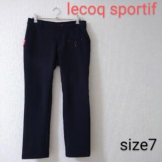 le coq sportif - 美品 ルコックスポルティフ lecoqsportif 濃紺 ゴルフ パンツ