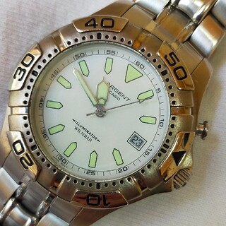 カシオ(CASIO)のCASIO カシオ ARGENT クォーツ ARG103  アンティーク(腕時計(アナログ))
