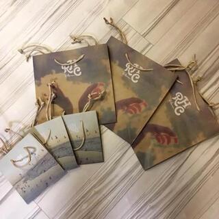 ロンハーマン(Ron Herman)の美品!【RHC 】紙袋 ショッパー 6枚セット ロンハーマン ギフト(ショップ袋)