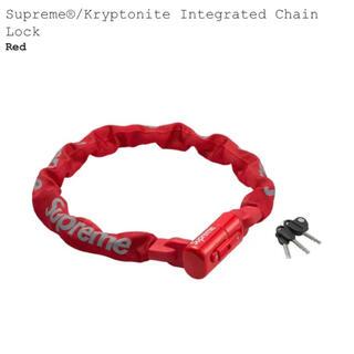 シュプリーム(Supreme)のSupreme Kryptonite Integrated Chain Lock(セキュリティ)