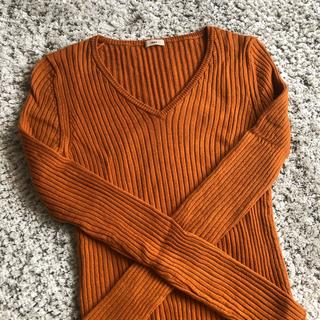 イエナ(IENA)のIENA イエナ★ニット★ブラウン味オレンジ★2点以上購入でお値引き(ニット/セーター)