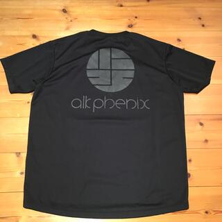 アークテリクス(ARC'TERYX)の美品 alk phenix ロゴT XL 黒(Tシャツ/カットソー(半袖/袖なし))