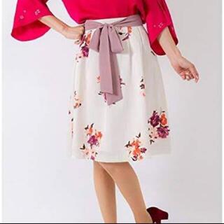 エルディープライム(LD prime)のLDprime❤︎花柄スカート(ひざ丈スカート)