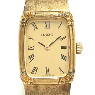ラドー(RADO)のラドー - 332 32212 レディース ゴールド(腕時計)