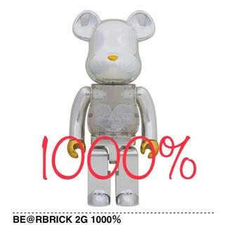 メディコムトイ(MEDICOM TOY)の【新品未開封】BE@RBRICK 2G 1000%(その他)