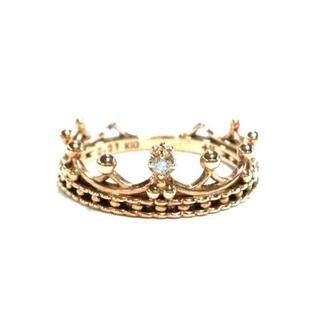 ノジェス(NOJESS)のNOJESS(ノジェス) K10×ダイヤモンド(リング(指輪))