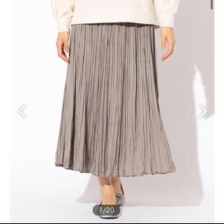 エニィファム(anyFAM)のエニィファム プリーツ スカート(ロングスカート)