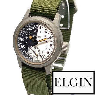 エルジン(ELGIN)の★至高品 エルジン WWⅡ ミリタリー  1940s 15j ビンテージ(腕時計(アナログ))
