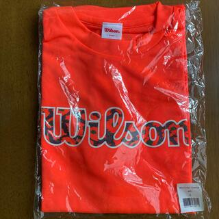 ウィルソン(wilson)の【新品未使用】ウィルソン(Wilson)Tシャツ(バドミントン)