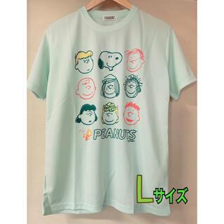 ピーナッツ(PEANUTS)の新品 スヌーピー ドライメッシュ ドライウェア 吸汗速乾 Tシャツ  Lサイズ(Tシャツ/カットソー(半袖/袖なし))