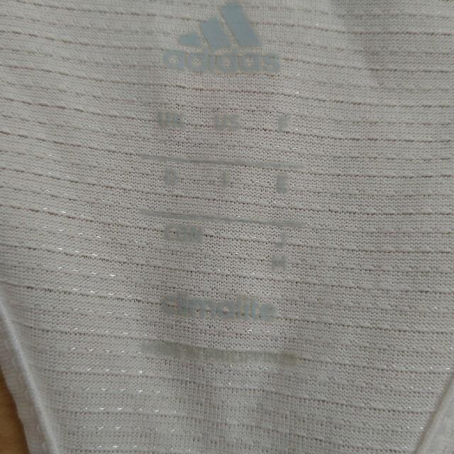 adidas(アディダス)のadidas アディダス タンクトップ ホワイト 白 Mサイズ スポーツ/アウトドアのトレーニング/エクササイズ(その他)の商品写真