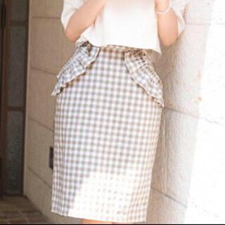 le reve vaniller - ギンガムチェックタイトスカート