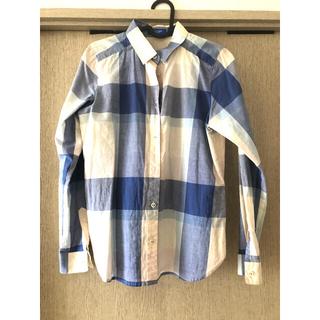 バーバリーブルーレーベル(BURBERRY BLUE LABEL)の美品★着用回数少★ブルーレーベルシャツ★サイズ36★2点以上購入でお値引き(シャツ/ブラウス(長袖/七分))