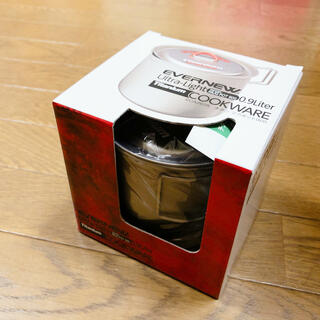 エバニュー(EVERNEW)の【新品・未開封】エバニューチタンマグポット900 ECA267R (調理器具)
