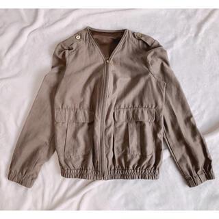 グローブ(grove)のジャケット(ノーカラージャケット)