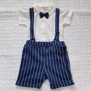 ニシマツヤ(西松屋)のサロペット Tシャツ 80cm(その他)