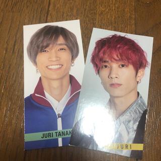 ジャニーズ(Johnny's)のSixTONES 田中樹 Myojo デタカ スマイルメッセージカード(アイドルグッズ)