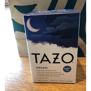 スターバックスコーヒー(Starbucks Coffee)のTAZO ハーブティーDream(茶)