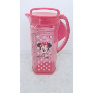 ディズニー(Disney)の日本製 ミニー 冷水筒 お茶 保存 ポット 容器 1.2L(容器)