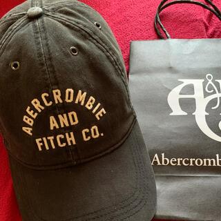 アバクロンビーアンドフィッチ(Abercrombie&Fitch)のアバクロキャップ【人気BLACKモデル.最終価格】(キャップ)