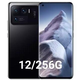 新品未開封 xiaomi mi11 ultra 12/256 ブラック 充電器付(スマートフォン本体)