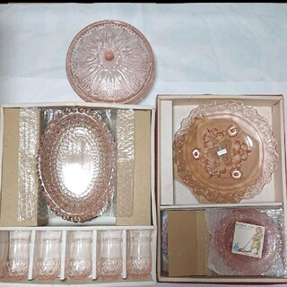 トウヨウササキガラス(東洋佐々木ガラス)の東洋食器シリーズセット(食器)