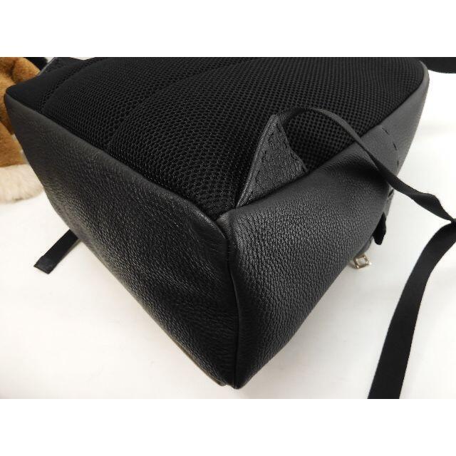 FENDI(フェンディ)のフェンディ バックパック モンスターフェイス セレリア黒灰 メンズ 新品同様@1 メンズのバッグ(バッグパック/リュック)の商品写真