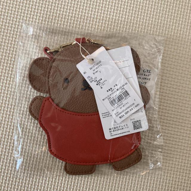 Maison de FLEUR(メゾンドフルール)のミッフィー  ボリス カードケース メゾンドフルール 定期入れ レディースのファッション小物(パスケース/IDカードホルダー)の商品写真
