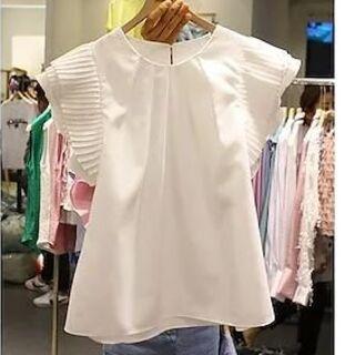 ザラ(ZARA)のプリーツトップス ブラウス Tシャツ(その他)