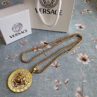 ヴェルサーチ(VERSACE)の美品・VERSACE ヴェルサーチ ネックレス レディース(ネックレス)