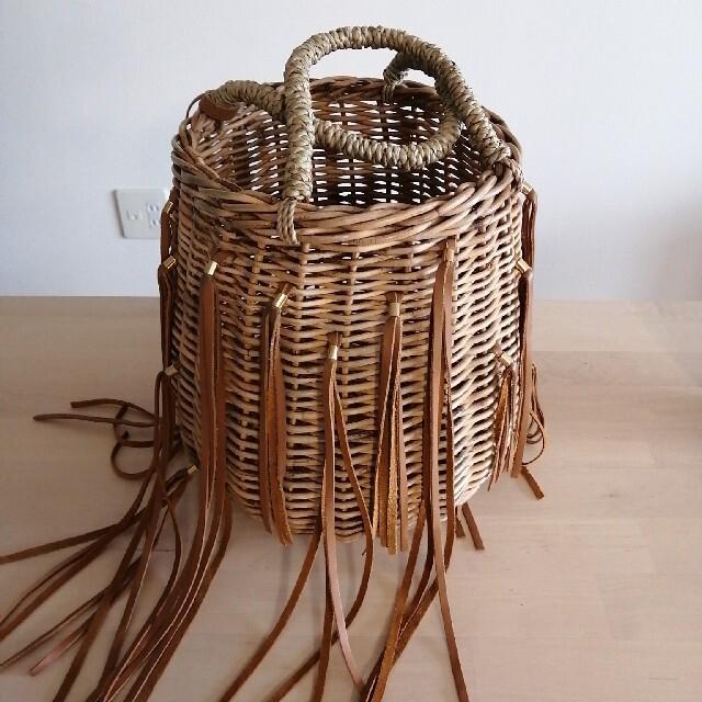 LUDLOW(ラドロー)のラドローかごバッグMサイズ レディースのバッグ(かごバッグ/ストローバッグ)の商品写真